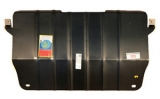 """Защита картера двигателя и КПП CITROEN """"С5"""" (2008-), """"C6""""(2004-); PEUGEOT """"407""""(2004-), """"508""""(2011-)"""