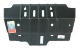 """Защита рулевых тяг TOYOTA """"Land Cruiser Prado"""" 150 (2009-) комплект с планкой 6138"""