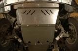Защита картера и радиатора для VOLKSWAGEN Amarok, 2 010-2 015, , сталь