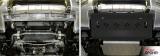 Защита радиатора  Сталь, Mitsubishi Pajero IV 2011-, V - 3.0; 3.2d(188л.с.; 200л.с.); 3.8/Mitsubishi Pajero III 1999-2006, V - все/Mitsubishi Pajero IV 2006-2011, V - 3.0; 3.2d(188л.с.; 200л.с.); 3.8