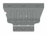 Защита картера и КПП для VOLKSWAGEN Golf,  Sportsvan, 2 013-/ Seat Leon Referance, алюминий