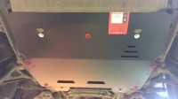 защита {картера и КПП} VOLVO XC 90 кроме V8 (2002 -) 2,5; 3,0; 3,2; 2,4D ; сталь 2,5 мм,
