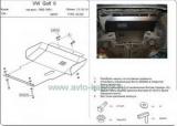 Защита {картера и КПП} VOLKSWAGEN Golf/Jetta (1984 - 1992) 1,3; 1,6; 1,8; 1,6D (кузов: 19E ; 1G2) сталь