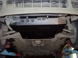 Защита картера и КПП для VOLKSWAGEN Golf III, 1 991-1 997, 1H, сталь