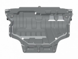 Защита картера и КПП для SKODA Octavia, 2 013-, A7, алюминий