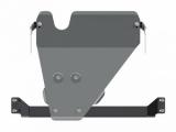 Защита {КПП и РК} TOYOTA Land Cruiser 79 (2012 -) 4,0 МТ; 4,2D МТ ; алюминий