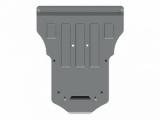 Защита {картера и КПП} AUDI Q 5 (2014 -) 2,0 TFSI АТ (Tiptronic) 4wd ; алюмин