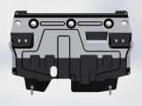Защита {картера и КПП} VOLKSWAGEN Polo с отверстием для слива масла (sedan)/сборка Калуга (2010 - 20