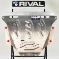 Защита КПП Rival, , BMW 3 V - 2.5/E92 Coupe, 2011-2014, крепеж в комплекте, алюминий, ()