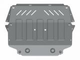Защита {картера и КПП} Skoda SuperB/VOLKSWAGEN Jetta (2005 - 2010) 1,4; 1,6; 1,9D (кузов: 1K2) алюмин.