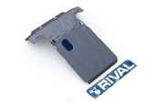 Защита радиатора и картера , Chevrolet Niva V - 1.7, 2002-2009/2009-, штатный крепеж, алюминий