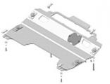 Защита алюминиевая Мотодор 31103 Mazda CX-9