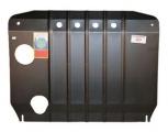 АвтоЩИТ/Защита картера двигателя и КПП HYUNDAI ix55, Santa Fe II 2006-2009/3134