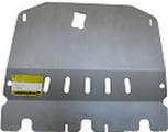 Защита алюминиевая Мотодор 31401 Nissan Qashqai +2