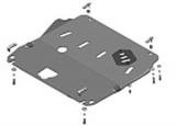 Защита алюминиевая Мотодор 31412 Nissan X-Trail