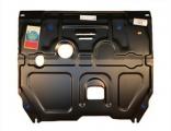 Защита картера и КПП (двигателя и коробки) Hyundai Solaris (2011)/ Kia Rio III (2011-) (сталь 2мм)