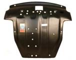 """Защита картера двигателя и КПП HYUNDAI """"Santa Fe"""" (2006-2011) 3177"""