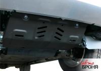 Защита радиатора, Mitsubishi L200 2015-, V - 2.4d; 2.4d H.P./Mitsubishi Pajero Sport 2016-, V - 3.0