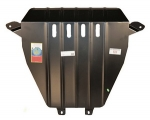 Защита картера и КПП (двигателя и коробки) Honda CR-V (2006-2012) (сталь 2мм)