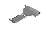 Защита алюминиевая Мотодор 32228 Subaru XV