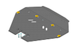 Защита алюминиевая Мотодор 32229 Subaru Forester ST