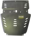 Защита алюминиевая Мотодор 32508 Toyota Tundra