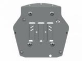Защита {картера и КПП} CADILLAC XT5 (2016 -) 3,6 АТ AWD (AL 4 мм) Штамповка (7,98кг) 1 лист, 929х920