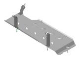 Защита топливного бака алюминиевая 5 мм Б Chevrolet Express