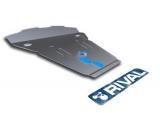 Защита картера Rival, , BMW X6 V - 3.0d, 3.5i, 2008-, крепеж в комплекте, алюминий, ()