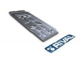Защита КПП и РК Rival, , BMW X5/X6 V - 3.0d, 3.5i, 4.0d, 2007-2013/2013-, крепеж в комплекте, алюминий, ()