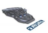 Защита картера Rival, , BMW X3 V - 2.0d, 2.8i, 3.0d, 2010-, крепеж в комплекте, алюминий, ()