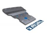 Защита картера Rival, , BMW 5 528i/530d/xDrive, 2010-, крепеж в комплекте, алюминий, ()