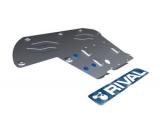Защита КПП и РК Rival, , BMW 5 528i/530d/xDrive, 2010-, крепеж в комплекте, алюминий, ()