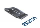 Защита КПП Rival, , BMW 3 F30 316i/320i/RWD, 2012-, крепеж в комплекте, алюминий, ()