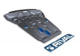 Защита картера Rival, , BMW X5 V - 3.0d, 4.0d, 5.0d, 2013-, крепеж в комплекте, алюминий, ()
