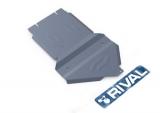 Защита КПП и РК Rival, , Cadillac Escalade V - 6.2, 2007-, крепеж в комплекте, алюминий, ()