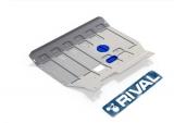 защита картера и КПП Автоброня Ford Transit передний привод