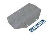Защита картера часть 1 Автоброня Hyundai Genesis G90; V - 3,3; полный привод;