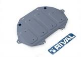 Защита картера часть 2 Автоброня Hyundai Genesis G90; V - 3,3; полный привод;