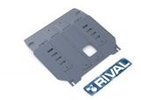 защита картера и КПП Автоброня Kia Sorento Prime 4WD, V- 2,2CRDi; 2,4