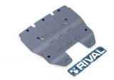 Защита радиатора Rival, , Lexus IS 250 V - 2.5, 2013-, крепеж в комплекте, алюминий, ()
