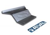 Защита радиатора + комплект крепежа Toyota Hilux, V - 2,5D-4D;3,0TD (2007)/ алюминий