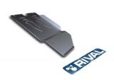 Защита КПП с крепежом TOYOTA: HILUX (07-), V - 2.5D/3.0TD/4.0TD алюминий