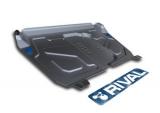 Защита картера Lexus ES 250/350 (12-)RX 270 (08-)Toyota Camry (06-) с крепежом алюминий
