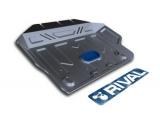 защита картера часть 2 Автоброня Toyota LC150 , V - 2,7; 3,0TD; 4,0; 2,8TD