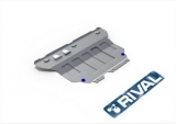 защита картера и КПП Автоброня Volkswagen Tiguan, V - 1.4 (125л.с.); 2.0TDI (150л.с.)
