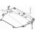 Защита алюминиевая Мотодор 35012 Lexus NX 200