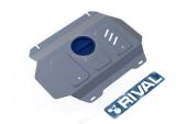 защита радиатора и картера часть 2 Автоброня Toyota Hilux 4WD, V - 2,4; 2,8