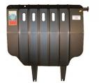 Защита картера и КПП (двигателя и коробки) Шкода Октавия Тур (1996-2011) V-1.8T(сталь 2мм)