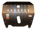 """Защита картера двигателя и КПП TOYOTA """"Highlander"""" (2001-2007); LEXUS """"RX300"""" (2003-2009) 6122"""